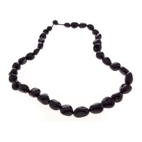 Pebble Long stone necklace