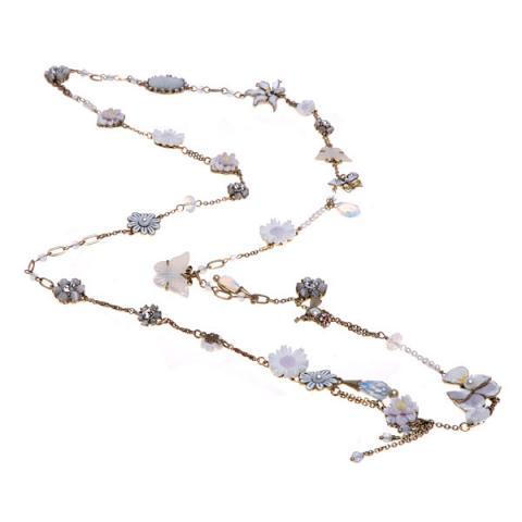 Les Nereides Lovebird necklace