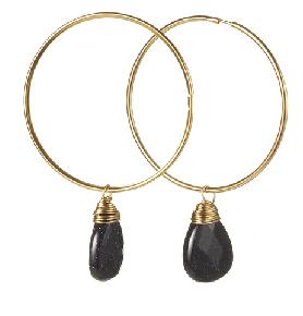 Susan Hanover hoop earrings