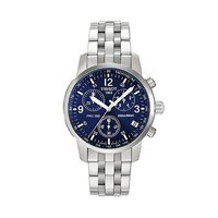 Tissot PRC200 men's stainless steel chronograph watch