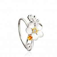 Forget-me-not Frond Ring