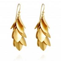 Jingly Leaf Earrings
