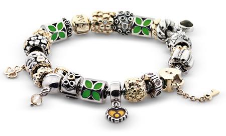 Pandora completed bracelets
