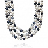 Multi Coloured Pearl Necklace