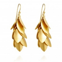 Jingly Leaf Earrings